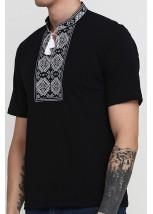Вышитая футболка М-618-6