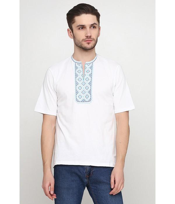Вышитая футболка Етномодерн М-612-13, Вышитая футболка Етномодерн М-612-13 купити