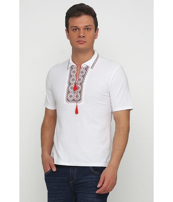Вышитая футболка Етномодерн М-612-5, Вышитая футболка Етномодерн М-612-5 купити