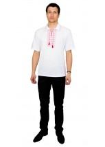 Вышитая футболка крестиком «Поло» М-612-11