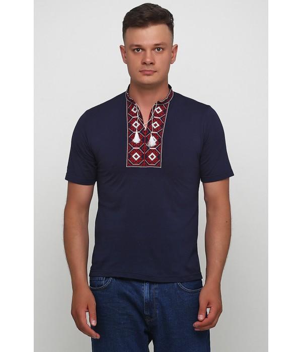 "Вишита футболка Етномодерн ""Ромби"" М-614-15, Вишита футболка Етномодерн ""Ромби"" М-614-15 купити"