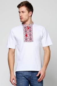 """Мужская футболка вышиванка Етномодерн """"Ромбы"""" М-614"""
