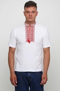 """Вышитая футболка Етномодерн """"Ромбы"""" М-614-5"""