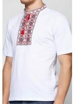 """Чоловіча футболка вишиванка Етномодерн """"Ромби"""" М-614"""