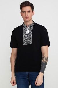Вышитая футболка Етномодерн М-615-12