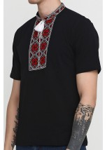 "Чоловіча вишита футболка Етномодерн ""Народна"" М-615-14"