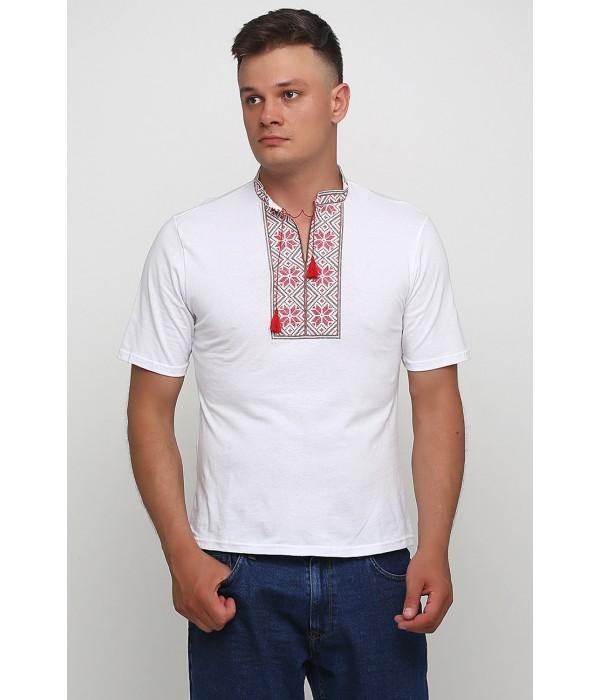 """Вышитая футболка Етномодерн """"Народная"""" М-615-3, Вышитая футболка Етномодерн """"Народная"""" М-615-3 купити"""