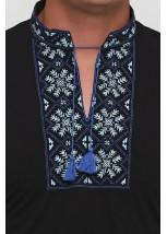 """Вышитая футболка Етномодерн """"Снежинка"""" М-616-10"""