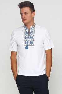 "Вишита футболка Етномодерн ""Сніжинка"" М-616"