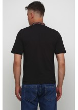 """Мужская футболка с вышивкой Етномодерн """"Снежинка"""" М-616-4"""