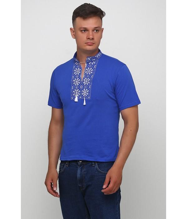 "Вишита футболка Етномодерн ""Сніжинка"" М-616-9, Вишита футболка Етномодерн ""Сніжинка"" М-616-9 купити"