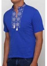 "Вишита футболка Етномодерн ""Сніжинка"" М-616-9"