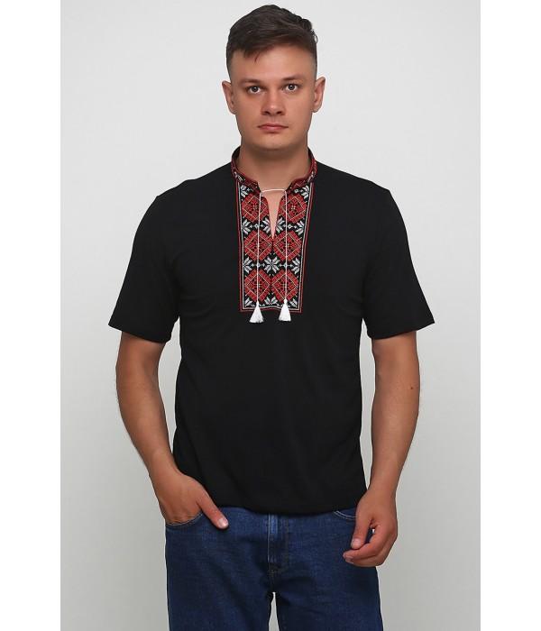 Вишита футболка Етномодерн М-618-2, Вишита футболка Етномодерн М-618-2 купити