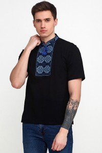 Вышитая футболка Етномодерн М-618-5