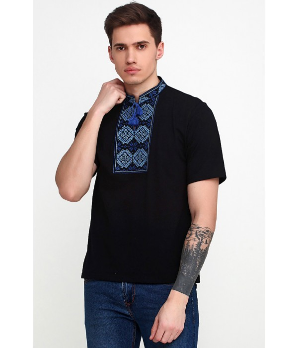 Вышитая футболка Етномодерн М-618-5, Вышитая футболка Етномодерн М-618-5 купити