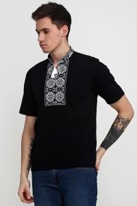 Вышитая футболка Етномодерн М-618-6