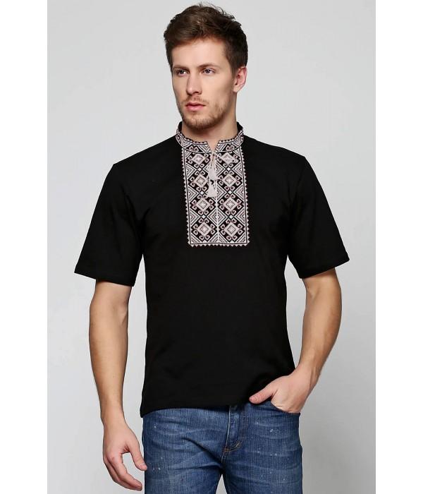 Вишита футболка Етномодерн М-619-1, Вишита футболка Етномодерн М-619-1 купити