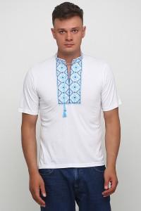 Вышитая футболка Етномодерн М-619-11
