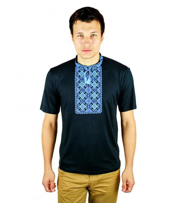 Вышитая футболка Етномодерн М-619-10, Вышитая футболка Етномодерн М-619-10 купити
