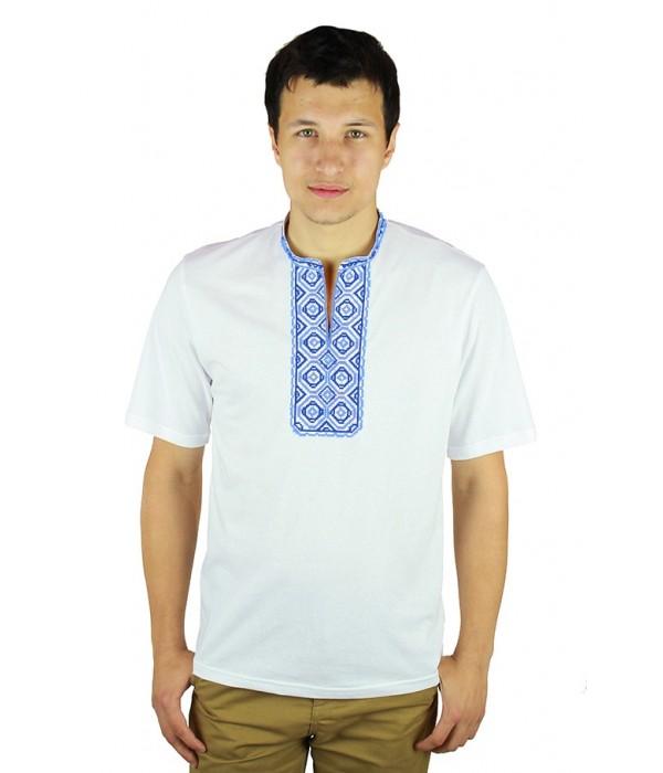 Вышитая футболка Етномодерн М-620-3, Вышитая футболка Етномодерн М-620-3 купити