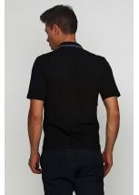 Вышитая футболка крестиком «Поло» М-612-2