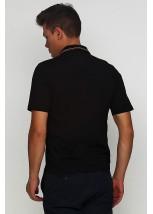 Вышитая футболка крестиком «Поло» М-612