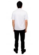 Вышитая футболка крестиком «Поло» М-612-10