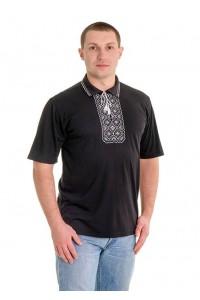 Вишита футболка хрестиком «Поло» М-612-1