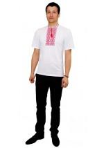 Вишита футболка хрестиком «Ромби» М-614-5