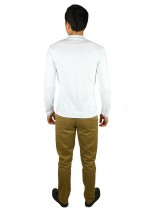 Вышитая футболка крестиком «Ромбы» М-614-19