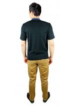 Вышитая футболка крестиком «Ромбы» М-614-18