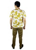 Вышитая футболка крестиком «Ромбы» М-614-20