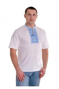 Вишита футболка хрестиком «Ромби» М-614-2