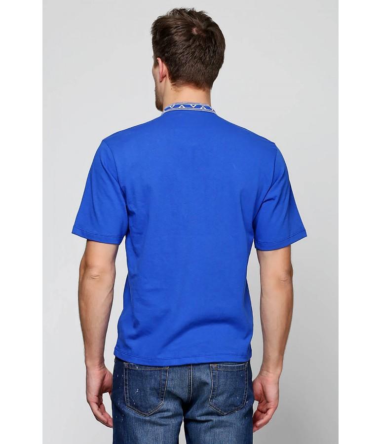 Вишита футболка хрестиком «Ромби» М-614-3 купити у Львові dcd83b46d39af