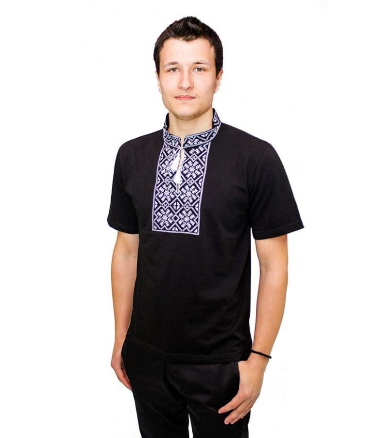 Вишита футболка гладдю «Сніжинка» М-616-11 купити у Львові 6839ec3710162