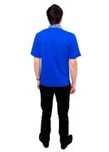Вишита футболка гладдю «Сніжинка» М-616-9