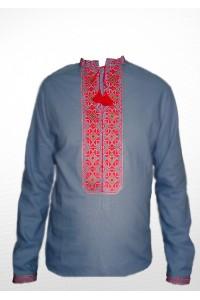 Рубашка вышитая мужская 100% Лен М-406-9