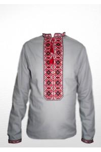 Рубашка вышитая мужская 100% Лен М-406-4
