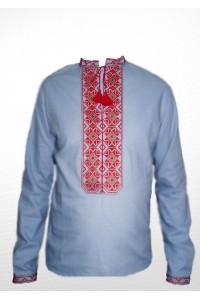 Рубашка вышитая мужская 100% Лен М-406-3