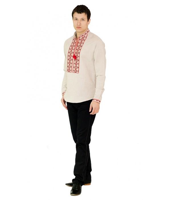 Рубашка вышитая мужская  М-417-2, Рубашка вышитая мужская  М-417-2 купити