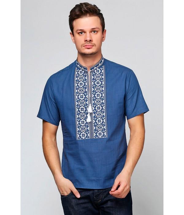 Рубашка вышитая мужская  М-417-10, Рубашка вышитая мужская  М-417-10 купити