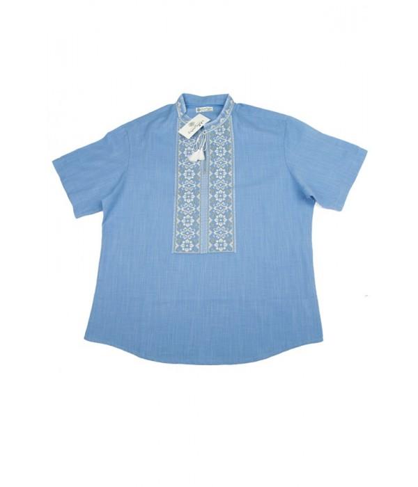 Сорочка вишита чоловіча М-417-11, Сорочка вишита чоловіча М-417-11 купити