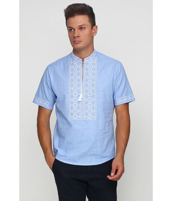 Рубашка вышитая мужская  М-417-11, Рубашка вышитая мужская  М-417-11 купити