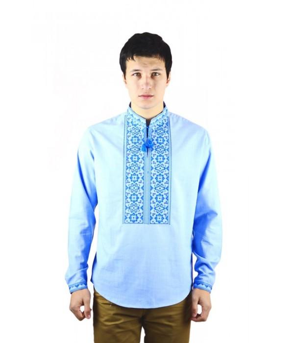 Рубашка вышитая мужская  М-417-5, Рубашка вышитая мужская  М-417-5 купити