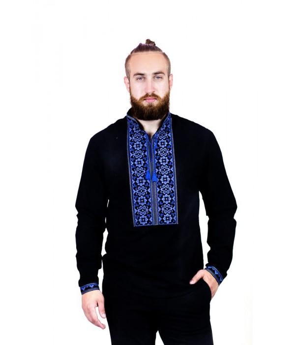 Рубашка вышитая мужская  М-417-7, Рубашка вышитая мужская  М-417-7 купити