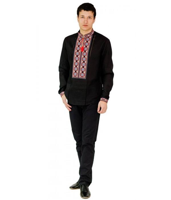 Рубашка вышитая мужская М-418-8, Рубашка вышитая мужская М-418-8 купити