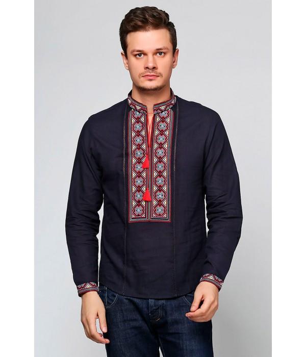 Рубашка вышитая мужская М-418-14, Рубашка вышитая мужская М-418-14 купити