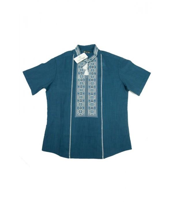 Сорочка вишита чоловіча М-418-16, Сорочка вишита чоловіча М-418-16 купити