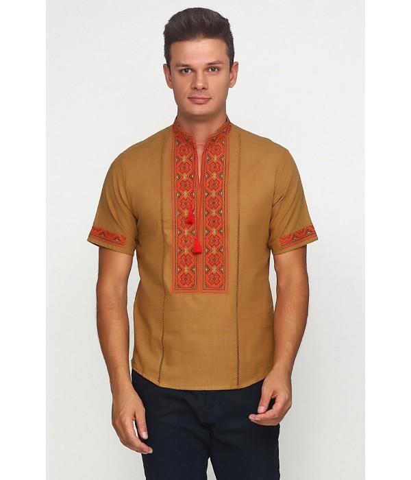 Рубашка вышитая мужская М-418-18, Рубашка вышитая мужская М-418-18 купити