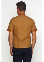 Рубашка вышитая мужская М-418-18